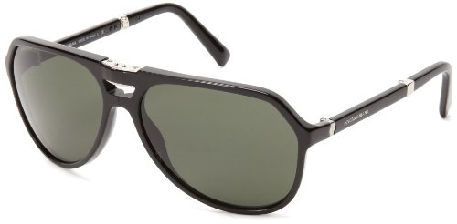 D&G Dolce & Gabbana 0Dg4196 501/R561 Round Sunglasses,Black,61 Mm