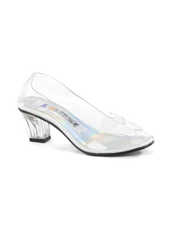 Image of Clear Princess Costume Slipper Shoe - 7 (B005HCGU46)