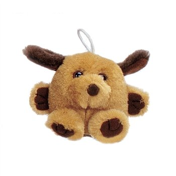 "Purr-Fection Mini Pumpkin Cushy Kid Dog 3"" Plush"