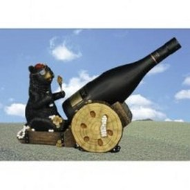 Bear Pirate Wine Holder- Bear Decor