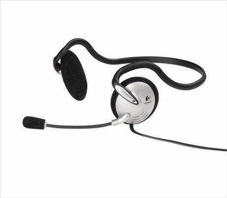 Logitech Clearchat Lightweight Pc Headset W/ Flexible Microphone