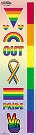 Rainbow Pride Sticker Set
