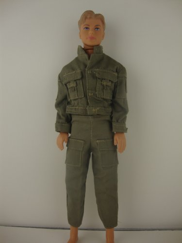 31KNn8kHz4L Cheap Price 2 Pc Tan Kaki Outfit Made to Fit the Ken Doll