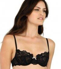 Elle Macpherson Intimates Spree Demi Underwire Bra E75-696 32D/Nude