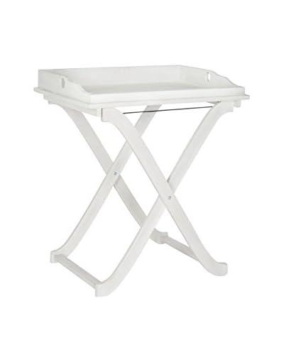 Safavieh Covina Tray Table, Antique White