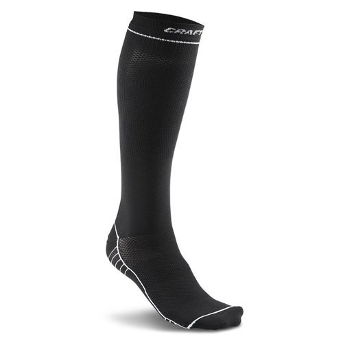 Craft Compression Sock Donna, nero / bianco, 39-42