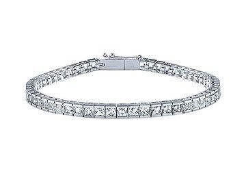 Diamond Tennis Bracelet Platinum - 4.00 CT Diamonds