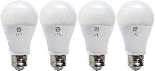 GE Lighting 31487 LED 10.5-watt (60-watt replacement), 850-Lumen A19 Light Bulb with Medium Base, Daylight, 4-Pack (Ge Led Lightbulbs compare prices)