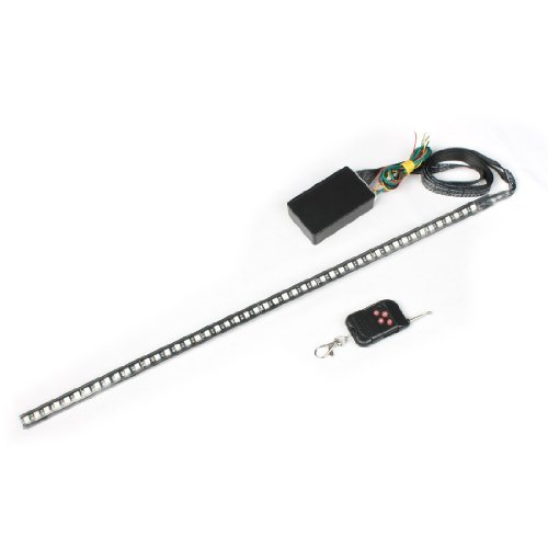 Car 130 Scan Modes Remote Control Colorful 5050 Smd 48 Led Light Strip Kit