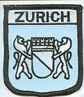 Zurich Switzerland Flag Embroidered Patch Badge