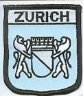 Zurich Switzerland Flag Embroidered Patch Badge