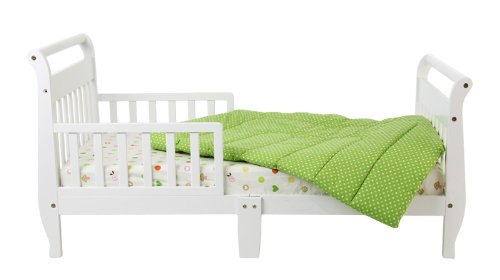 Cheap Dream On Me Classic Sleigh Toddler Bed, White