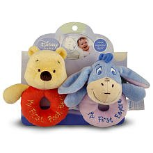 Kids Preferred Winnie the Pooh Ring Rattles (Colors/Styles Vary)