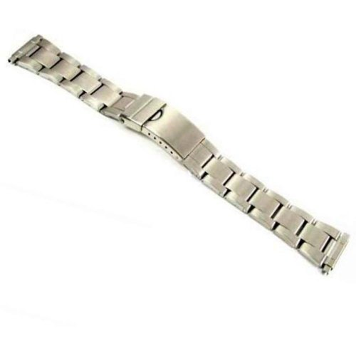 Deployment Buckle Watch Band Stainless Steel Links