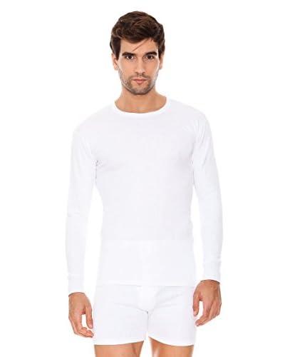 ABANDERADO Pack x 3 Camiseta Manga Larga Algodón Thermal Blanco