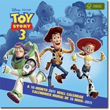 Disney Pixar Toy Story 3. A 16-Month 2011 Wall Calendar