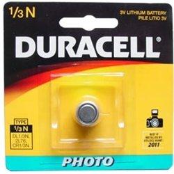 Duracell DL1/3N CR1/3N 3V Lithium Battery 3 Pack