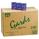 Hospeco 147A Gards Maxi Sanitary Napkin (250 per Case)