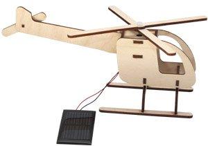 Solar-Steckhubschrauber Holz Bausatz