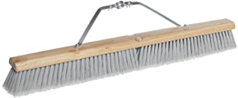 Magnolia Brush 3730 30-Inch Silver Flagged-Tip Plastic Floor Brush with M-60 Handle