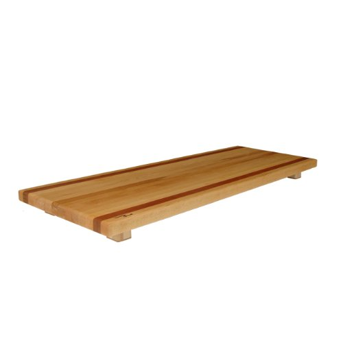Tableboards By Spinella Tbl2 Large Cutting Board, Serving Tray, Hot Plate-All In One! Cherry Accent