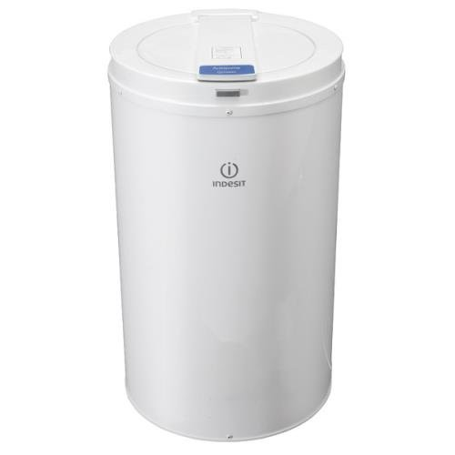Indesit ISDP429 Free Standing Spin Dryer in White, 2800rpm spin speed, 4kg drying capacity, 'C' energy efficiency rating