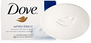 Dove Beauty Bar, White, 4 Bars