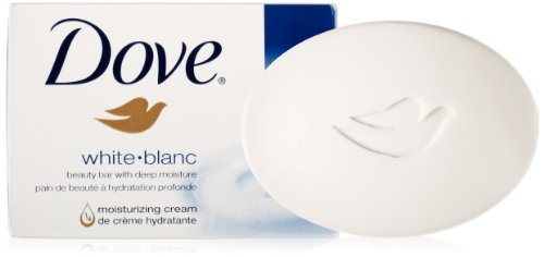 Dove Beauty Bar, White, 4 Bars