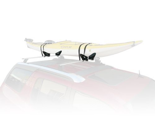 Stoneman Sports VR-851 Sparehand Roof Mounted Single Kayak Vehicle Carrier, Matte Gray Finish