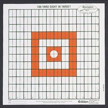 Remington Grid Style Targets-12pk (Targets & Throwers) (Paper Targets)