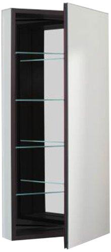 Robern CB-PLM2040B  Pl-Series Flat Mirror Medicine Cabinet, Black