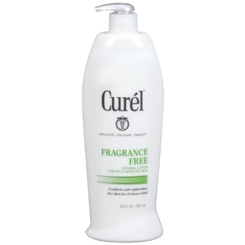 Curel Fragrance Free Lotion, 20 ounce