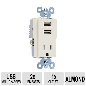 Tamper-Resistant Combo Receptacle/Usb Charger