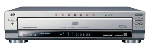 JVC XV-FA902SL 7-Disc DVD Player , Silver