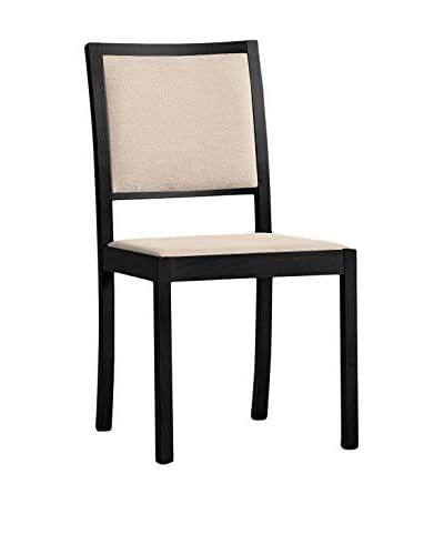 Domitalia Dark Brown Lacquered Chair