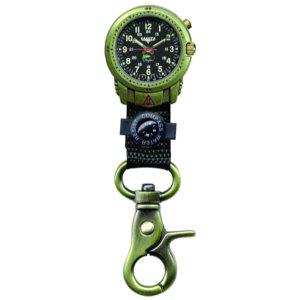 Dakota Watches Phase II, Black EL Dial, OEB Alloy Case, Black Nylon Strap (Dakota Stainless Steel Watch compare prices)