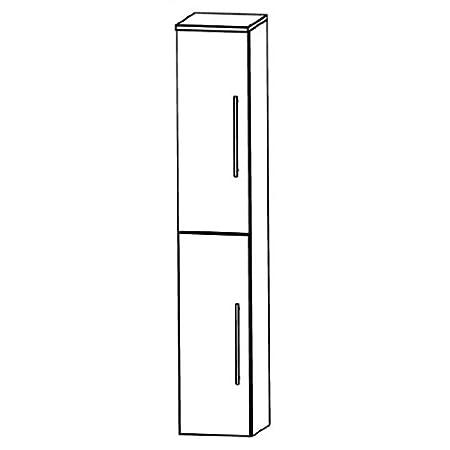 Puris Speed (HNA033AL / R Tall Cupboard Bathroom Cupboard 30 CM
