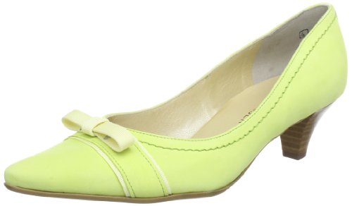 Peter Kaiser GINDY Closed Women Yellow Gelb (NEONGELB MARLY RIPSBAND 493) Size: 35.5