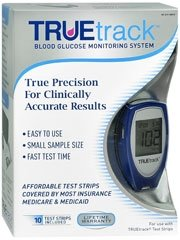 Cheap True Track Smart System Blood Glucose Meter Kit (NIA4HDI-81)