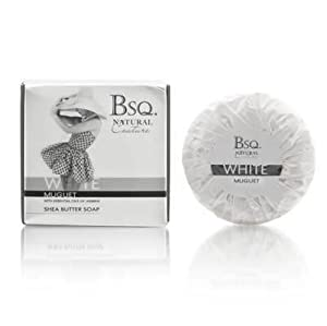 Bsq. Natural Couture White Muguet 150g Shea Butter Soap