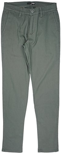 Elwood Tapered Stretch Twill Men's Chino Pants in Military Green. 28-38. (Elwood Pants compare prices)