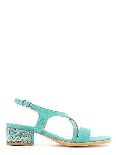 Apepazza ELW03 Sandalo tacco Donna Turchese 38