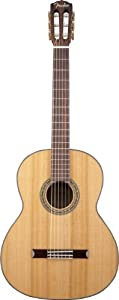 Fender CN-140S Solid Top Classical Nylon String Guitar, Rosewood Fingerboard - Natural