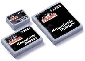 Prang Professional Kneadable Rubber Eraser, Large, 12/bx