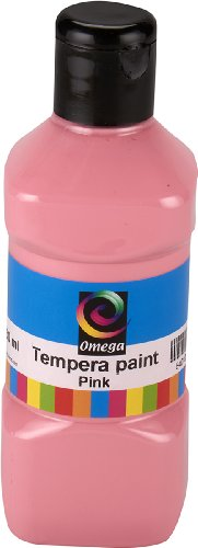 Omega Tempera Paint, 250ml, Pink
