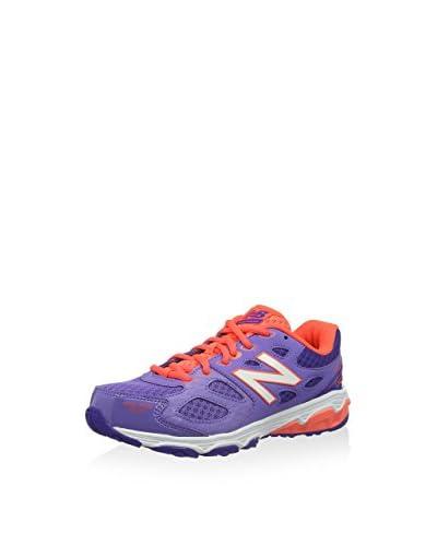 New Balance Sneaker KR680CPY [Viola/Arancione]