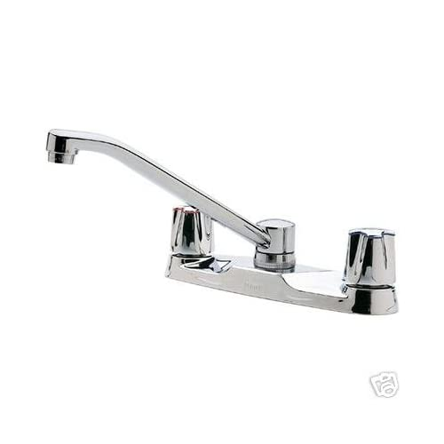 price pfister h35 221 2 handle kitchen faucet touch on kitchen sink