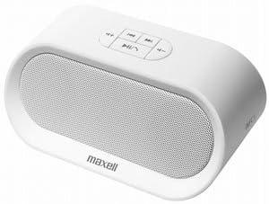 マクセル Bluetooth対応ポータブルスピーカー(ホワイト)maxell MXSP-BT04WH