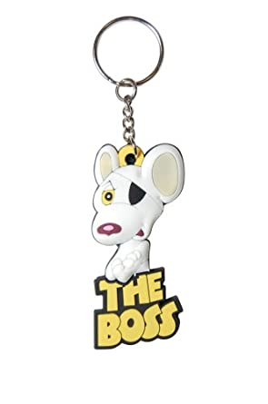 Danger Mouse Keyring. The Boss PVC Keyring