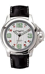 Jorg Gray Leather Silver Dial Men's watch #JG1850-26 by Jorg Gray